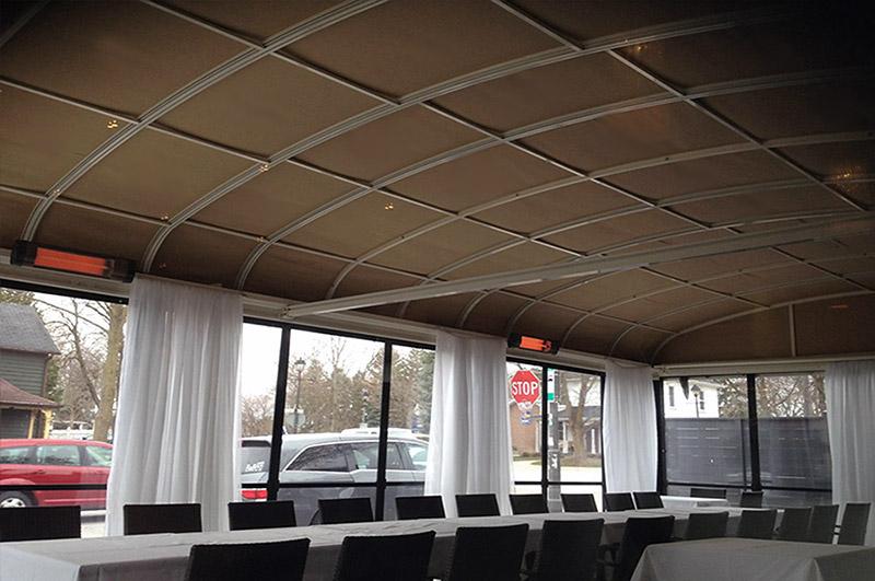 Coperture telescopiche per terrazzi idee di design per la casa