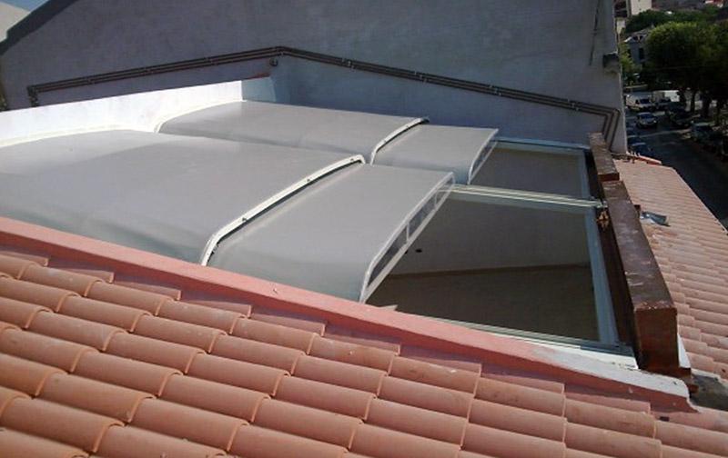Coperture scorrevoli per terrazzi jn32 pineglen - Strutture mobili per terrazzi ...