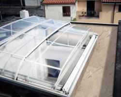 Giardino di inverno trasparente
